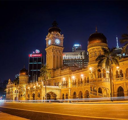 Merdeka Square Landmark of Malaysia