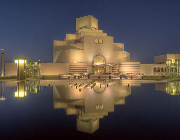 Museum of Islamic Art Art that we never saw.