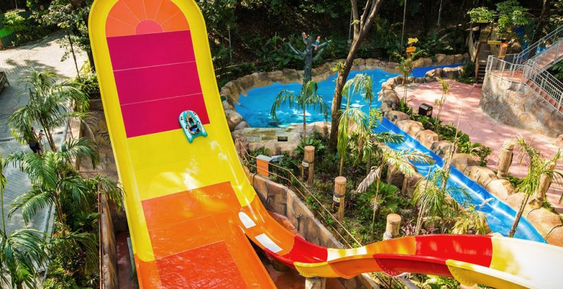 Sunway Lagoon Water Park from Malaysia